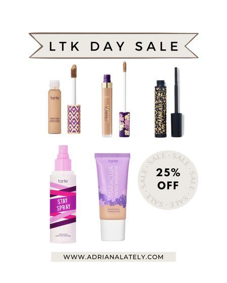 Beauty sale, tarte cosmetics, tinted moisturizer, summer beauty, summer make up, mascara   #LTKunder100 #LTKbeauty #LTKDay