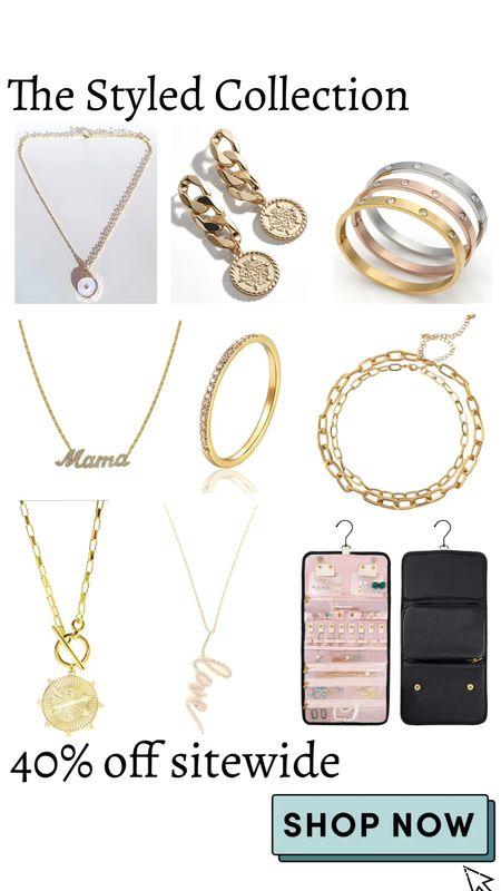 The Styled Collection 40% off sitewide  Jewelry   #LTKSale #LTKsalealert #LTKunder50