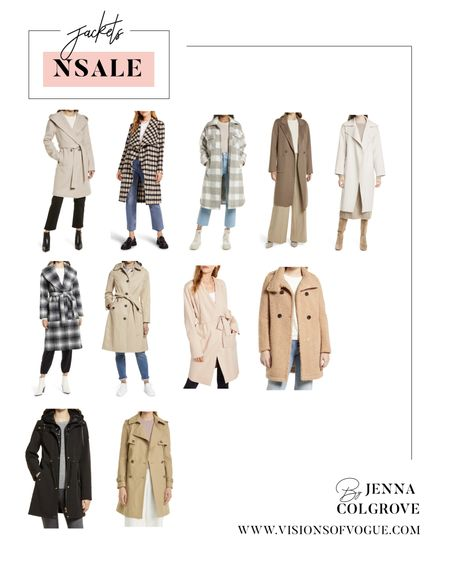 My favorite winter jackets and trench coats for fall and winter from the Nordstrom Anniversary Sale (NSALE)!   #LTKstyletip #LTKunder100 #LTKsalealert