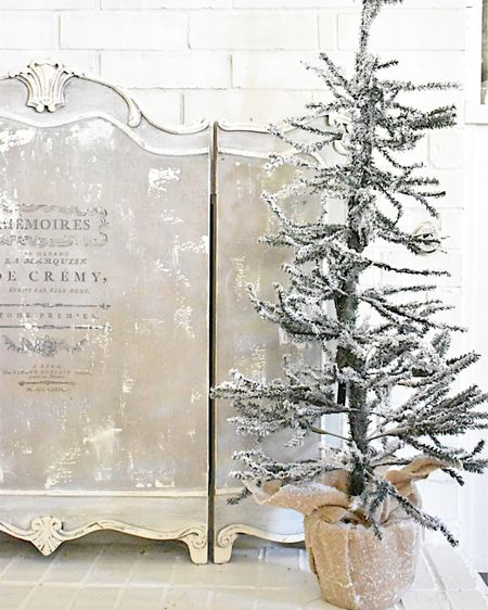 """I wanted to share these adorable Christmas trees with you while they are still in stock.    They are 48"""" tall and only $20!!  They come in solid green or snow covered tips.  You should definitely order this now, because at that price they won't last long!!   http://liketk.it/306Qv #liketkit #StayHomeWithLTK #LTKunder50 #LTKhome @liketoknow.it     Shop my daily looks by following me on the LIKEtoKNOW.it shopping app"""