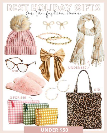 The best holiday gifts under $50 for the fashion lover!   #LTKGiftGuide #LTKunder50 #LTKHoliday