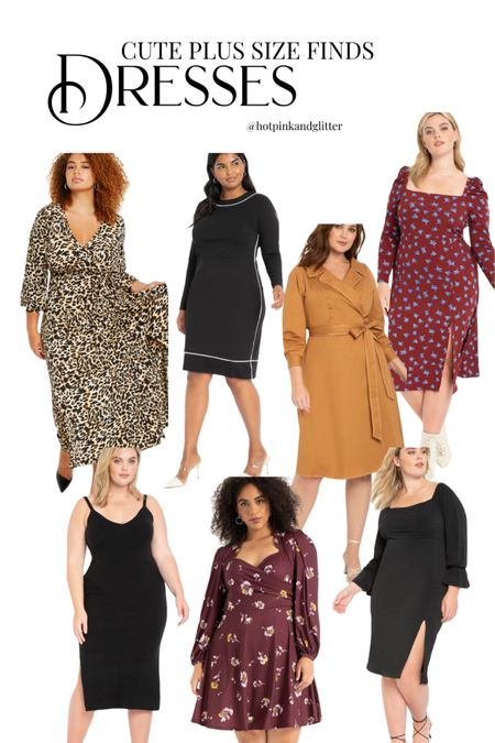Some of the cutest plus size dresses ever! Loving so many of these for everything from work to brunch to date night   #LTKcurves #LTKstyletip #LTKunder50