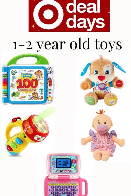 Target deal days toys for 1-2 year olds.   #LTKGiftGuide #LTKsalealert #LTKkids