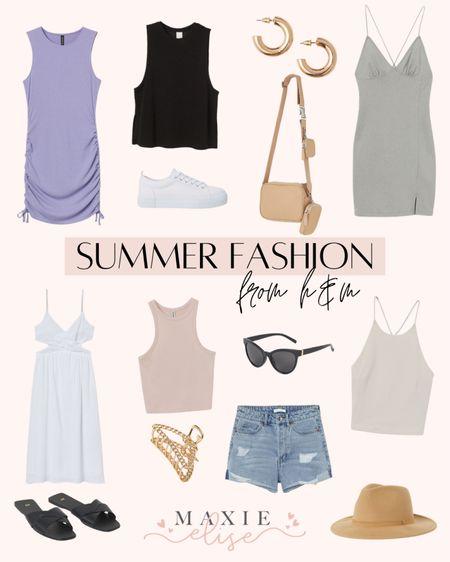Summer Fashion Finds From H&M ✨  #summerfashion #h&m #hmfashion #hmoutfit #summeroutfits #summerdress #minidress #denimshorts  #LTKunder50 #LTKSeasonal #LTKstyletip