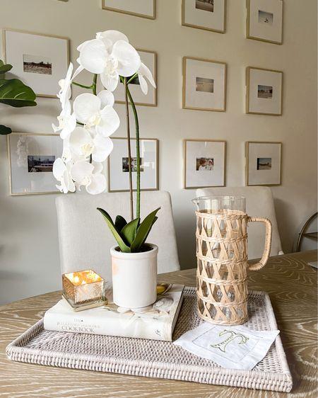 Target home decor! Faux orchid, $12 gallery frames, rattan pitcher #LTKhome http://liketk.it/3j9Q4 #liketkit @liketoknow.it