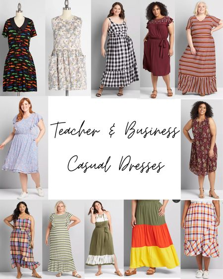 I'm doing requests from my Instagram. Here are my favorite teacher/business casual dresses and skirts! This only includes ModCloth, Lane Bryant & Maurices. So many cute options!   #LTKcurves #LTKSeasonal #LTKstyletip