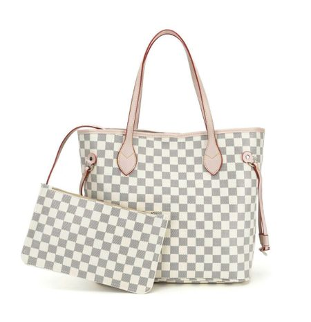 Checkered tote- under $50!   I have this tote bag and love it!  Linked the purse organizer I use in my tote too.   Would make a great Christmas gift for the holidays as well!      Tote bag , handbag , purse, women's accessories , walmart finds , walmart style , checkered tote , gift guide , #ltkholiday  , Christmas gifts , gifts for her , gifts for mom , gifts for mother-in-law, amazon fashion , amazon finds , target style , target fashion , target finds  #LTKunder50 #LTKitbag #LTKGiftGuide
