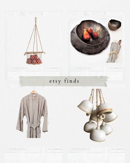 A few Etsy finds currently in my cart! #homedecor #robe #tableware #minimal #windchime http://liketk.it/36j0g #liketkit @liketoknow.it #LTKhome #LTKstyletip #LTKunder50 @liketoknow.it.home @liketoknow.it.family Shop my daily looks by following me on the LIKEtoKNOW.it shopping app