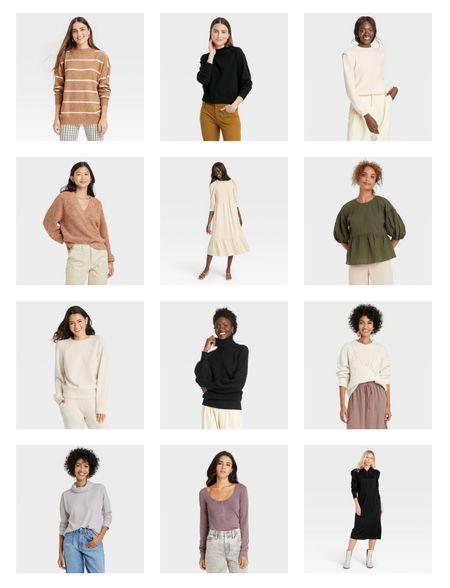 Target new arrivals, dresses & sweaters.   #LTKunder100