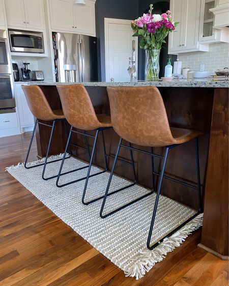 I'm loving our new rugs & the quality is outstanding! 10/10 and they're currently 75% off through today. I found our bar stools on sale along with a 2pk and 3pk available for easy buying! Take advantage of those Memorial Day sales for extra savings, friends!   http://liketk.it/3gx93 #liketkit @liketoknow.it #ltkseasonal #competition #LTKhome #LTKunder100 #LTKsalealert  .  Follow me on the LIKEtoKNOW.it shopping app to get the product details for this look and others