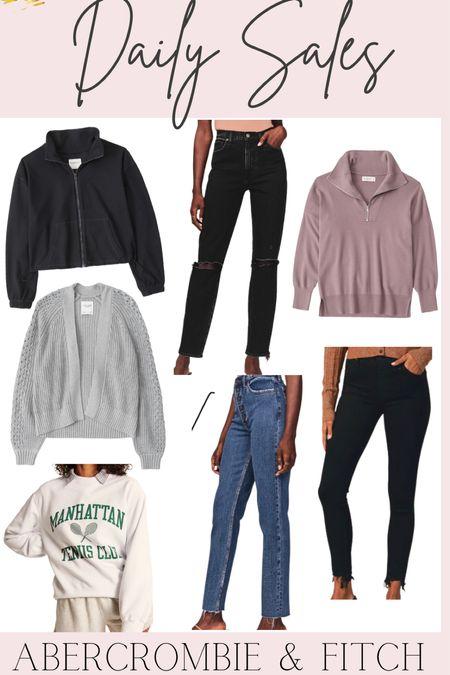 Daily Sales: Abercrombie & Fitch 40% off select styles   #LTKunder100 #LTKsalealert #LTKstyletip