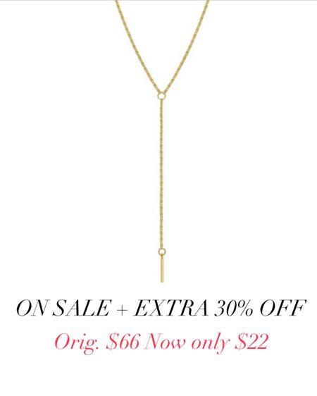 Use code LTK30 for extra 30% off Gold necklace   #liketkit http://liketk.it/3ihYy @liketoknow.it #LTKunder50 #LTKunder100 #LTKsalealert  #laurabeverlin