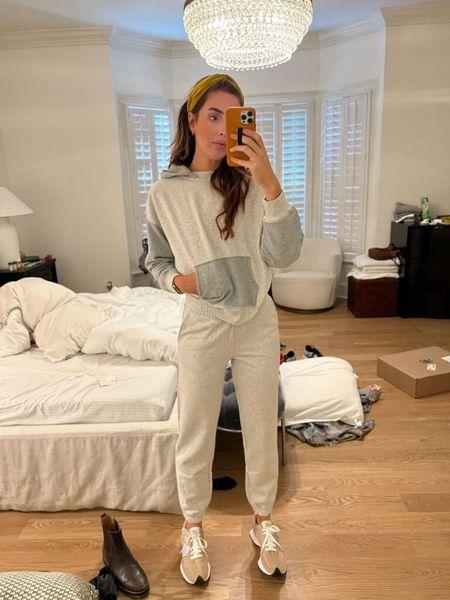 OOTD, Sweatpants, Hoodie, Loungewear, Tennis Shoes   #LTKstyletip