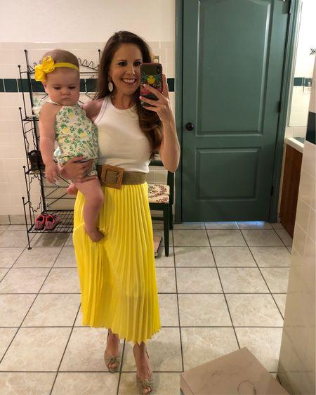 We're ready for the summer!   #midiskirt #summeroutfit #bodysuit #janieandjack #petitestyle #petitefashion #mommyanddaughter #familyfashion #yellow #romper #liketkit #LTKkids #LTKfamily #LTKbaby @liketoknow.it http://liketk.it/3g9RJ @liketoknow.it.family