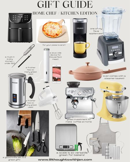 Gift ideas for the home chef or kitchen gift ideas! http://liketk.it/33WPh #liketkit @liketoknow.it #LTKgiftspo #StayHomeWithLTK #LTKhome