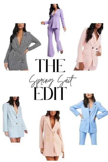 Suits for Spring   #LTKSpringSale #LTKSeasonal #LTKunder100