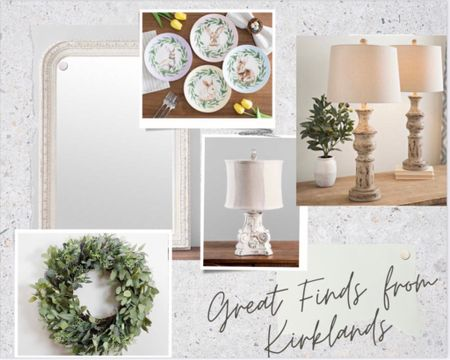 I recently found some super cute things at Kirklands recently!   If you're needing lamps, they have a greet selection and I've linked a few of my faves here.  Also, some great spring and Easter decor and the pieces are great!    http://liketk.it/37CM2 #StayHomeWithLTK #LTKunder50 #LTKSeasonal #liketkit @liketoknow.it.home @liketoknow.it    You can instantly shop all of my looks by following me on the LIKEtoKNOW.it shopping app