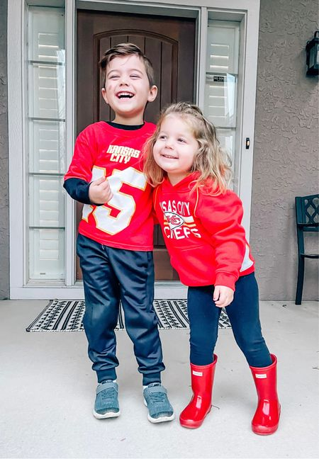 Go Chiefs! Kansas City chiefs, KC chiefs, Kansas, Missouri, football fans, Patrick machines, hunter boots, toddler outfits, kohl's, target finds, Nordstrom, kids outfits, football season   #LTKfamily #LTKsalealert #LTKkids