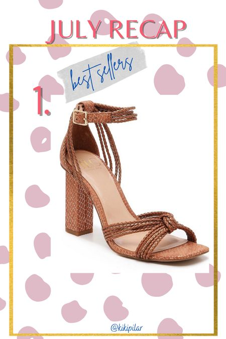Best Sellers July // dress sandal // JLo // DSW x JLO // open toed sandal // high heed // special occasion shoe  #LTKunder100 #LTKwedding #LTKshoecrush