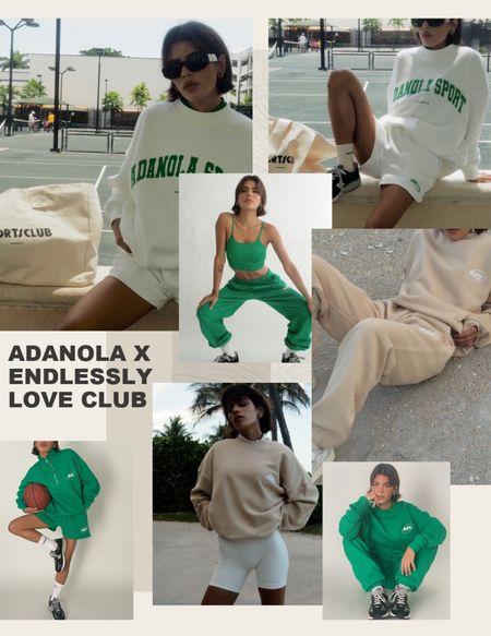 Adanola x endlessly love club! Oversized sweatshirts and jogger sets in gorgeous bottle green & cream colourways        #LTKSeasonal #LTKeurope
