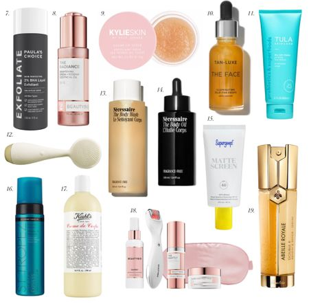Fall Skincare Refresh. Serums. Toners. Lotions. Self tanners. Face scrubber. PMD. Sunscreen. Body wash. Body lotion. Face lotion. Lip scrub. Anti aging.  #LTKunder100 #LTKbeauty #LTKunder50