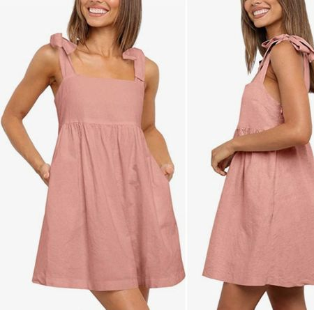 Bow shoulder dress, Amazon fashion, Amazon finds, Amazon dress  #LTKstyletip #LTKunder50     http://liketk.it/3l77N @liketoknow.it #liketkit