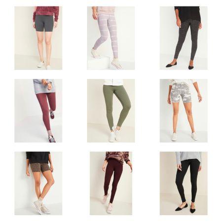2-day Old Navy sale! $6 leggings & $10 biker shorts!! 🩳 #liketkit @liketoknow.it http://liketk.it/36CS5