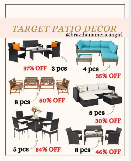 Patio Decor      #patiodecor #patiofurniture #patiosale #walmartfinds #outdoorfurniture #targetfinds #targethome   #LTKfamily #LTKsalealert #LTKhome