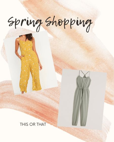 Abercrombie jumpsuit, old navy jumpsuit, floral jumpsuit, comfy jumpsuit, spring style, spring jumpsuits #ltkseasonal http://liketk.it/3eI0l #liketkit #LTKstyletip #LTKunder50 #LTKtravel @liketoknow.it