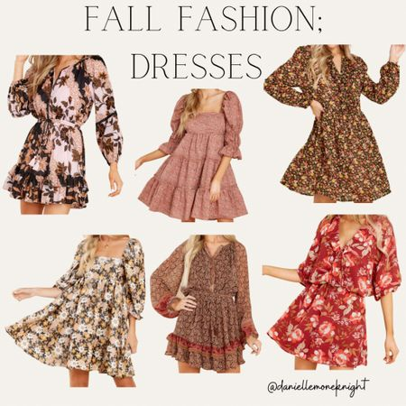 Sharing some of the fall dresses that have caught my eye!! #LTKSeasonal #competition   #LTKunder100 #LTKstyletip