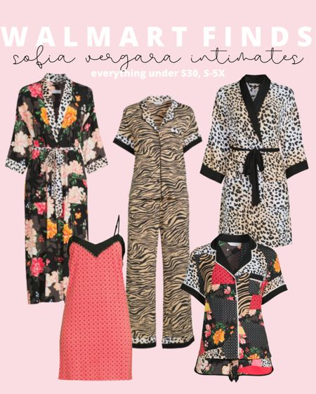 These new plus size robes and plus size pajamas from Sofia Vergara are an amazing Walmart find! Everything comes in sizes small to 5X and everything is under $30!   #LTKcurves #LTKunder50 #LTKstyletip