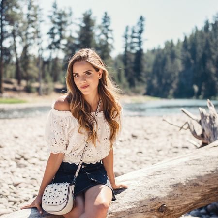 Over on galmeetsgalm.com today sharing lots of pics from our first day at Paws Up in Montana (and also obsessing over this @coach studded bag) #montana #pawsup #summertravels http://liketk.it/2p3IC @liketoknow.it #liketkit
