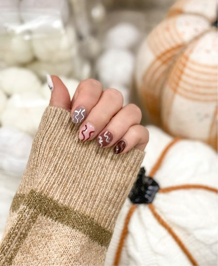 Fall nails , fall pumpkins   #LTKunder100 #LTKsalealert #LTKwedding