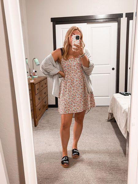 Sun dress Chloe slides   #LTKtravel #LTKunder100 #LTKstyletip