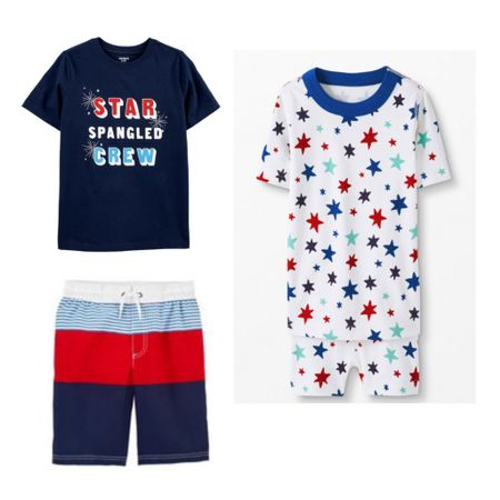 4th of July outfits for boys! The cutest swim and pjs for the holiday weekend. http://liketk.it/3g37z #liketkit @liketoknow.it #LTKfamily #LTKkids