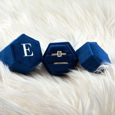 Royal blue ring box by LironTresor shop on Etsy!   http://liketk.it/3jO7y @liketoknow.it #liketkit #LTKstyletip #LTKwedding #LTKunder50