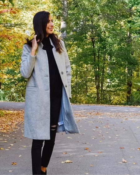 My favourite coat for fall/winter is back in stock and this year they have a dupe for the Aritzia cocoon coat! It fits true to size!   http://liketk.it/2YXof #liketkit @liketoknow.it