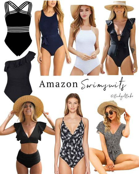 Amazon swimsuits http://liketk.it/3hHWq #liketkit @liketoknow.it #LTKunder50 #LTKswim #founditonamazon #amazonfinds