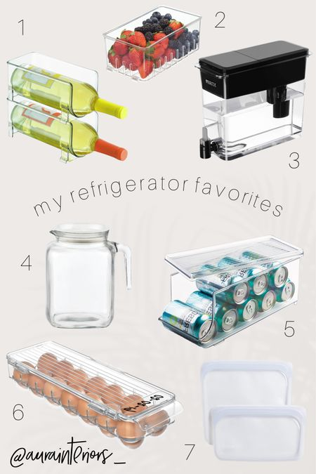 Because our refrigerators need to always be MTV Cribs ready. Not really... but looking at an organized fridge releases major dopamine 😅 Here are my current top faves for refrigerator organization!   Shop my daily looks by following me on LIKEtoKNOW.it!!  🛒  http://liketk.it/3aksN #liketkit @liketoknow.it @liketoknow.it.home #LTKunder50 #LTKhome #LTKfamily   refrigerator bins, refrigerator organizer, refrigerator organizers, organized fridge, organized freezer, organized refrigerator, tidy refrigerator, clean refrigerator, neat refrigerator, no plastic refrigerator, no packaging refrigerator, glass juice pitcher, glass juice container, glass juice carafe, glass juice refrigerator, glass pitcher refrigerator, best Brita filter, best water dispenser, water jug with tap, brita dispenser, brita with tap, water filter with tap, water filter dispenser, Idesign bins, idesign refrigerator bins, idesign soda, idesign wine, idesign water, idesign berry bin, berry bin, berry stainer bin, fruit bin, acrylic fruit bin, acrylic berry bin, clear berry bin, clear fruit bin, best water filter, soda can organizer, seltzer organizer, wine bottle organizer, soda cans refrigerator, soda organization, water bottle organizer, water bottle refrigerator organization, can organizer refrigerator, soda can holder, wine bottle holder, wine refrigerator, horizontal wine storage, wine storage, wine in refrigerator, stackable can holder, stackable soda can, stackable water bottle holder, soda can dispenser, water bottle dispenser, egg container, egg holder refrigerator, clear egg bin, clear egg container, acrylic egg container, acrylic egg bin, acrylic egg holder, acrylic soda can holder, acrylic soda bin, acrylic wine holder, clear soda bin, clear soda holder, clear wine holder, clear wine bin, clear water bottle bin, clear water bottle holder, acrylic water bottle bin, acrylic water bottle holder, reusable ziplocs, reusable baggies, reusable ziploc bags, reusable sandwich bag, reusable snack bags
