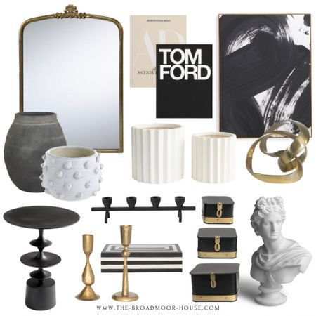 I have such a mix in here! Inexpensive wall art from TJMaxx and Tom Ford and architectural digest books 50% off! A brand new world market mirror and Amazon home home decor.  Living room decor, Amazon home, Amazon Finds, world market decor, black-and-white Decor, brass Decor, shelf decor, bedroom decor, face, found pot, candlesticks, side table, end table, living room furniture, bust, black and white decor, Decor box, white Decour, neutral Decor, modern wall art, tjmaxx finds  #LTKfamily #LTKhome #LTKstyletip