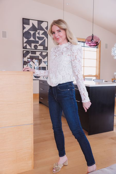 Do you prefer loose, flared jeans or are you sticking with chic and easy skinny jeans? I linked a bunch of different denim silhouettes and trends below!   ~Erin xo  http://liketk.it/3hg6F #liketkit @liketoknow.it