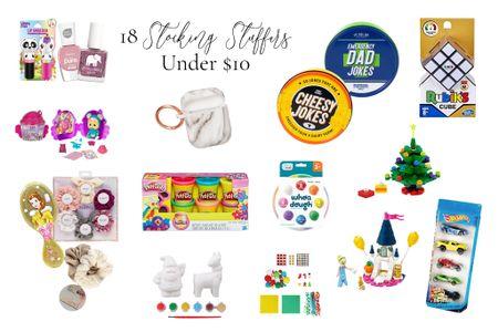 18 Stocking Stuffers under $10!   #LTKgiftspo #LTKfamily #LTKkids