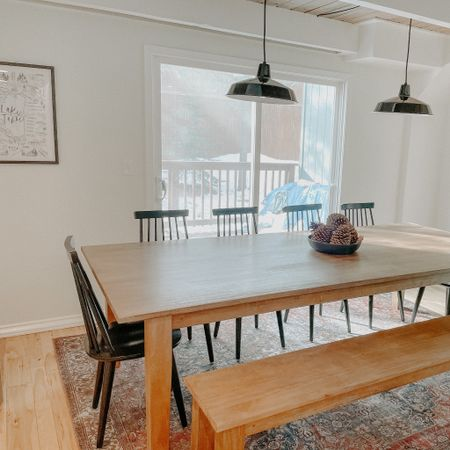 Large dining room table perfect for big family dinners http://liketk.it/36mKR #liketkit @liketoknow.it #StayHomeWithLTK #LTKhome #LTKfamily