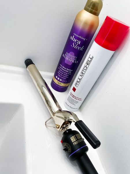 My ULTA picks for: Curling my hair   •the hot tools extra long barrel iron helps to curl more of my hair at one time • the Paul Mitchell heat spray has hold and protects- at the same time! • defying frizz and humidity is a struggle but this hair spray helps keep my style longer   #LTKunder100 #LTKsalealert #LTKbeauty