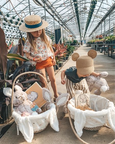 Hippy Hoppity Easter's On It's Way 🐰 My little bunnies got a sneak peek as to what they'll be finding in their Easter Baskets this year thanks to @potterybarnkids 🐣 // and I couldn't decide on just one pic. #mypbk #easter #ad #lovemypbk http://liketk.it/2B0H2 #liketkit @liketoknow.it #LTKunder100