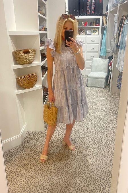 Love this dress for summer! Wearing a size S.     #LTKstyletip #LTKunder100 #LTKshoecrush