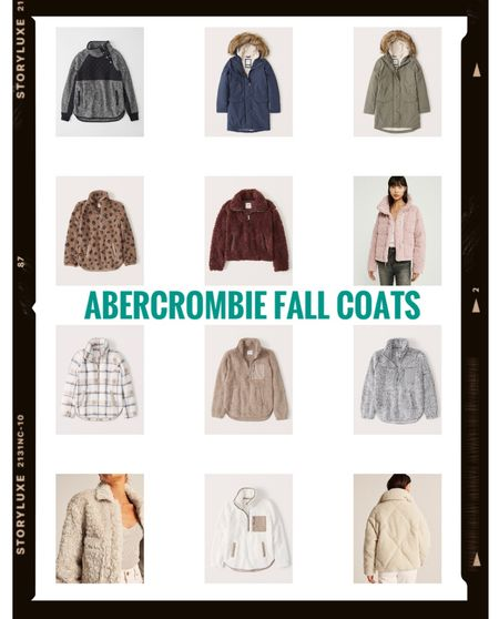 Fall coats from Abercrombie currently on sale 9/19/21 - 9/21/21! Happy shopping!        #LTKfit #LTKSale #LTKunder100