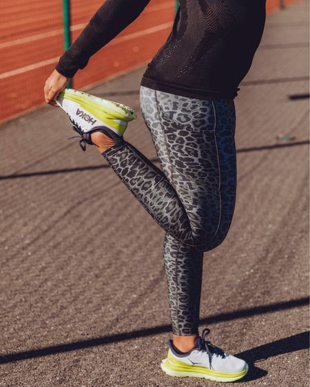 Anyone else obsessed with leggings with pockets? I really can't get enough of these cute and practical Amazon own brand animal print leggings 😍   Also wearing Amazon's half zip black running top in size S (would size up for layers in winter)!   http://liketk.it/3aDQa    #liketkit @liketoknow.it #LTKfit #LTKitbag #LTKunder50 @liketoknow.it.europe @liketoknow.it.family