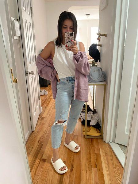 Abercrombie Denim Jeans Amazon finds Amazon Cardigan   #LTKunder100 #LTKstyletip #LTKunder50