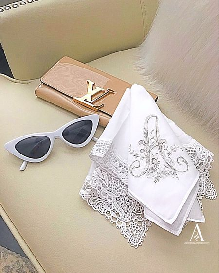 Creative gifts for Mother's Day! Classic gifts that are timeless. Monogram personalized handkerchief. So adorable with lace or crochet.   #LTKMothersDay #LTKspring #LTKunder100 @liketoknow.it http://liketk.it/2Orfe #liketkit Follow me on the LIKEtoKNOW.it shopping app to get the product details for this look and others